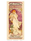 La Dame aux Camelias Art Nouveau  La Belle Époque