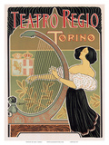 Teatro Regio  Torino  Italy  Art Nouveau  La Belle Époque
