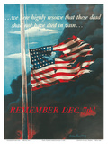 Remember December 7th!  In Remembrance of the Japanese Attack on Pearl Harbor  Honolulu  Hawaii