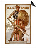 U*S*A Bonds  Third Liberty Loan Campaign  Boy Scouts of America Weapons for Liberty