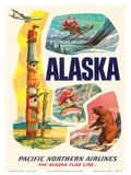 Alaska USA  The Alaska Flag Line  Pacific Northern Airlines