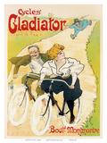 Cycles Gladiator  Art Nouveau  La Belle Époque