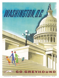 Washington  DC USA  United States Capitol Building  Go Greyhound