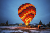 Balloon in Morning  Cappadocia