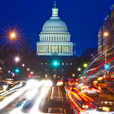 US Capitol  Dusk