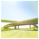 Cross Bridge over Road