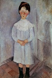Girl in Blue by Amedeo Modigliani