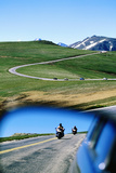 Traffic on Trail Ridge Road  Rocky Mountain National Park  Colorado  United States of America  Nort