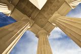 Columns  Lincoln Memorial  Washington  USA