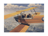 De Havilland Dh82 Tiger Moth Basic Trainer Biplane from the 1930'S