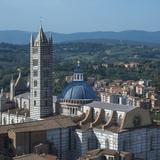 Siena Cathedral Overlooking Village
