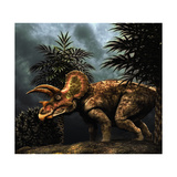 Triceratops Was a Herbivorous Dinosaur from the Cretaceous Period