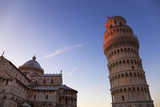 The Leaning Tower of Pisa and Duomo at Dusk