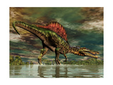 Spinosaurus Was a Large Theropod Dinosaur from the Cretaceous Period