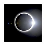 An Artist's Depiction of a Solar Eclipse