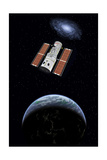 The Hubble Space Telescope in Earth Orbit