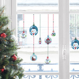 Snowball Window Stickers