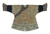 Embroidered Silk  Child's Robe