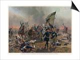 Battle of Zorndorf Friedrich Der Grosse Leads His Soldiers