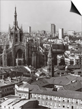 Panorama of Milan