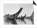 Kwakiutl Canoes  c1914