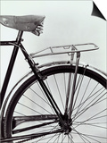 Mudguard  Seat and Rear Tire of a Bicycle