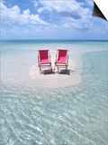 Folding Chairs on an Australian Beach
