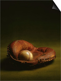 Glove and Baseball