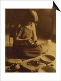 Native American Indian  the Potter (Nampeyo) Hopi