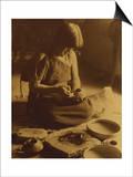 Native American Indian  the Potter (Nampeyo) Hopi
