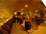 Wine Cellar of Chateau de Pierreclos  Burgundy  France