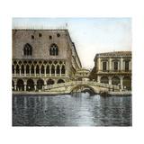 Venice (Italy)  Ponte Della Paglia and Sighs  Circa 1895