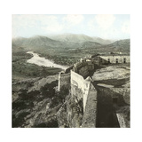Sagunto (Formerly Murviedro  Spain)  the Castle and the Surrounding Mountains  Circa 1885-1890