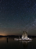 Mono Lake Tufas with Star Trails