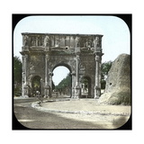 Rome (Italy)  the Palatine  the Arch of Constantine  Circa 1895