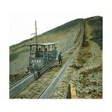 "Funicular ""Etna""  Image  Italy"