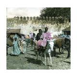 Tangier (Morocco)  Bab El Sammori  Circa 1885