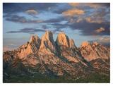 Organ Mountains near Las Cruces  New Mexico