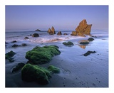 Seastacks on El Matador State Beach  Malibu  California