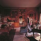 Alberto Sordi in His Villa