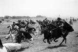 Yugoslavian Cavalrymen on the Set