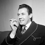 Nicola Filacuridi Smoking a Cigarette