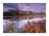 Sofa Mountain  Waterton Lakes National Park  Alberta  Canada