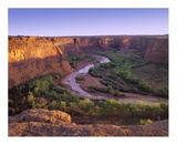 Tsegi Overlook  Canyon de Chelly National Monument  Arizona