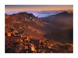 Rock of Haleakala Crater  Haleakala National Park  Maui  Hawaii