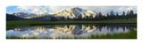 Panorama of Mammoth Peak and Kuna Crest  Yosemite National Park  California