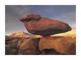 Balanced rock  Guadalupe Mountains  Texas