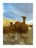 Toadstool Caprocks  Grand Staircase  Escalante National Monument  Utah