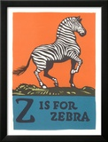 Z is for Zebra