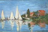 Regattas at Argenteuil by Claude Monet